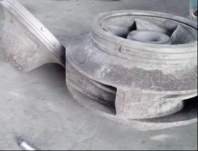 高分子耐磨防腐材料,修复渣浆泵、矿浆搅拌桶叶轮的问题